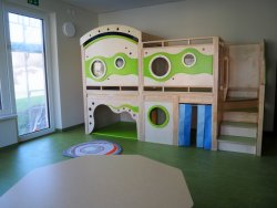 Kindernest leer U Boot