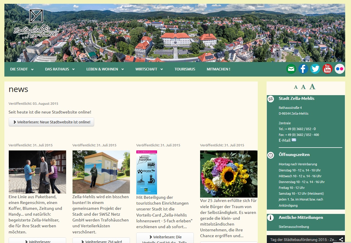 Neue Website!