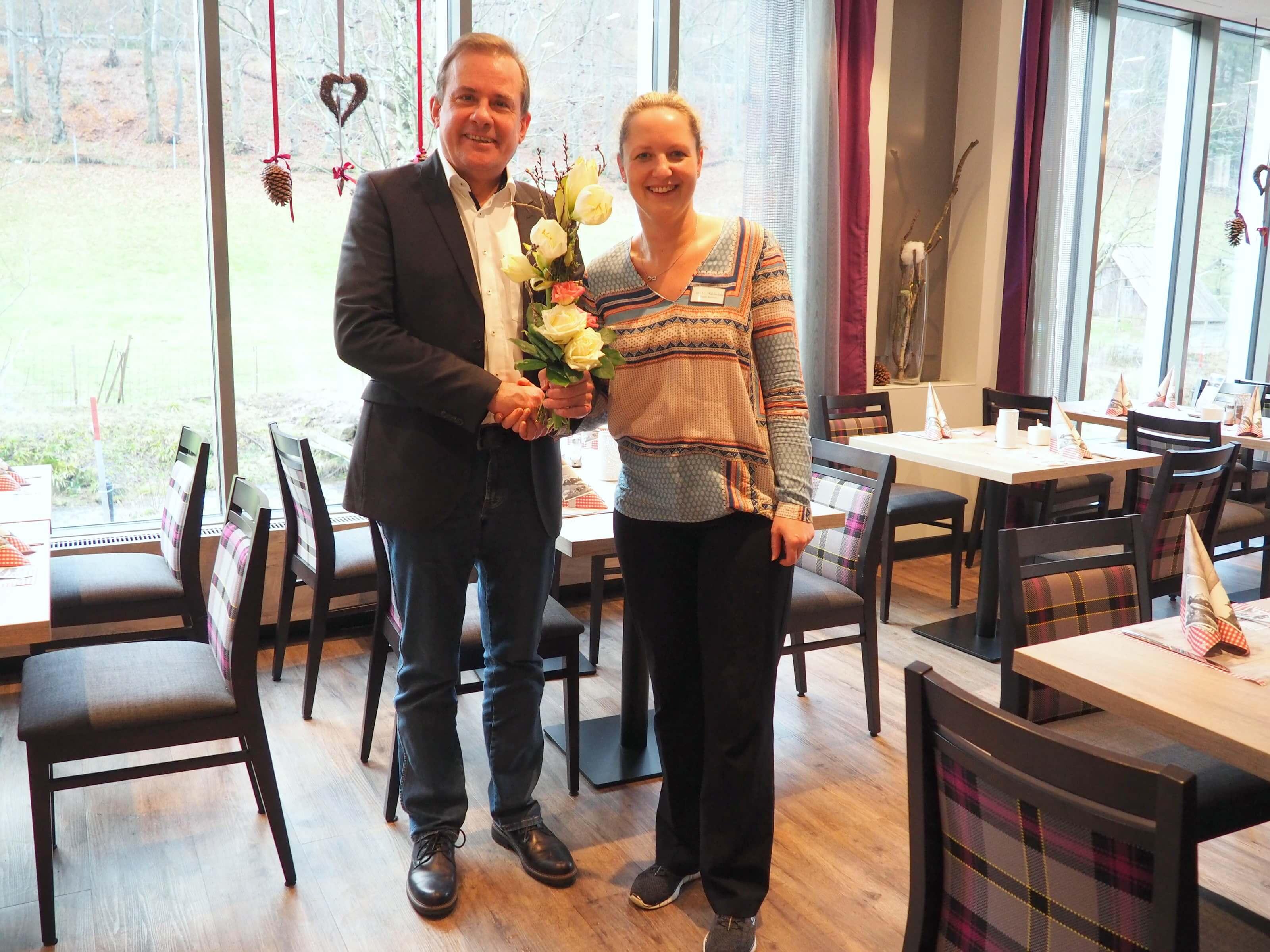 Umbau Des Restaurants Im Hotel Waldm 252 Hle Abgeschlossen